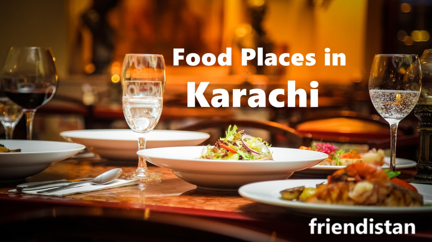 food places in karachi